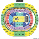 Staples Center End Stage Concert Seating Chart