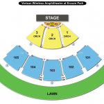 Verizon Wireless Amphitheatre at Encore Park Seating Chart