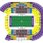 TCF Bank Stadium Football Seating Chart