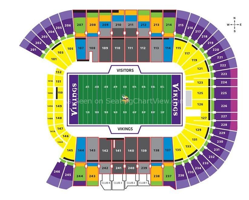 tcf bank stadium seating map with Tcf Bank Stadium on 321364 New Vikings Stadium Map additionally Click Here To View A Map Of The Stadium furthermore 284529291 as well Tcf Bank Stadium Tickets moreover Clemson Football Stadium Seating Chart.