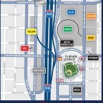 Turner Field Parking Map