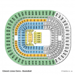 Edward Jones Dome Basketball Seating Chart