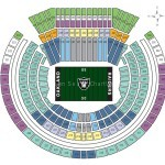 O.co Coliseum Football Seating Chart