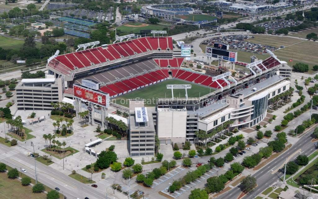 Raymond James Stadium Tampa Fl Seating Chart View