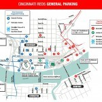 Great American Ballpark Parking Map
