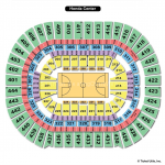 Honda Center Basketball Seating Chart