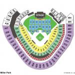 Miller Park Concert Seating ChartMiller Park Concert Seating Chart