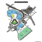 Miller Park Parking Map