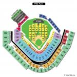 PNC Park Concert Seating Chart