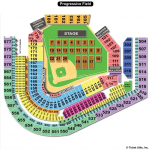 Progressive Field Concert Seating Chart