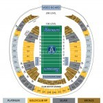Rogers Centre Football Seat Map
