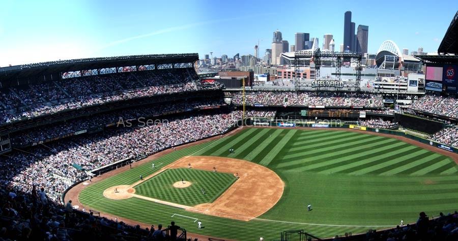 Safeco Field, Seattle WA | Seating Chart View