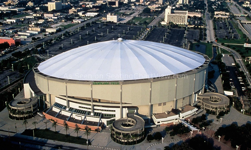 Tropicana Field, St. Petersburg FL