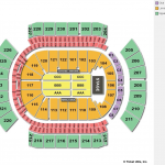 Gila River Arena End Stage Concert Seating Chart