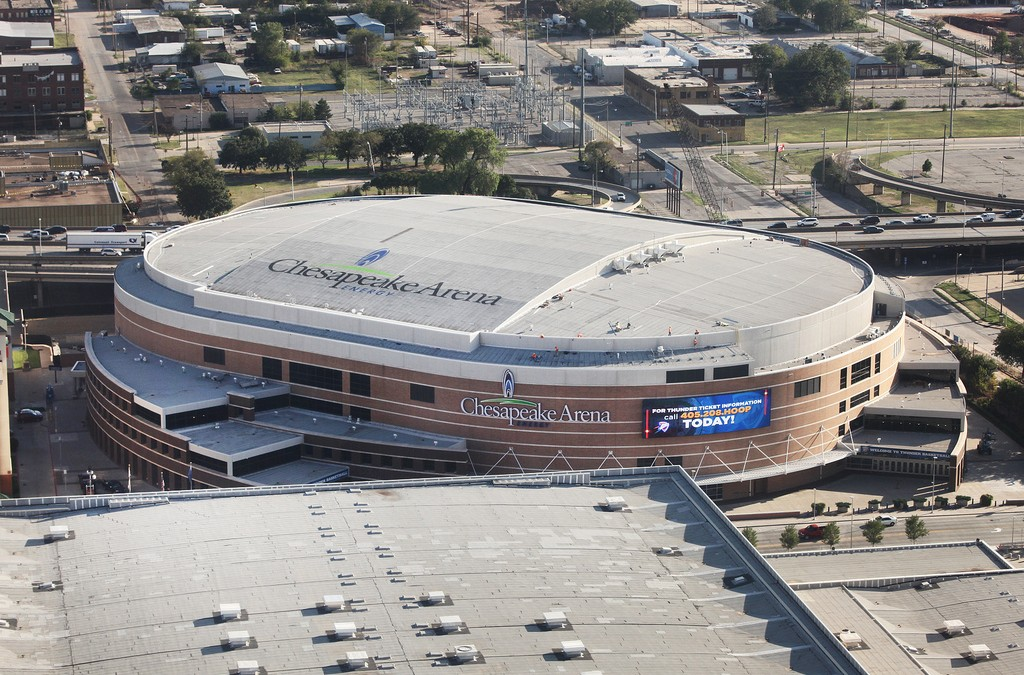 Chesapeake Energy Arena, Oklahoma City OK
