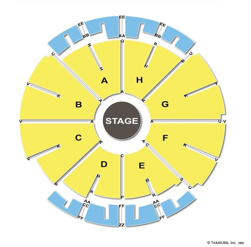 NYCB Theatre at Westbury Full House Seating Chart