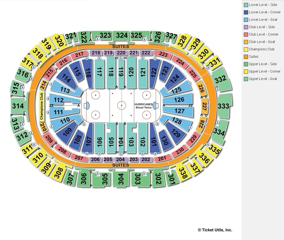 Pnc Arena Seat Layout Elcho Table