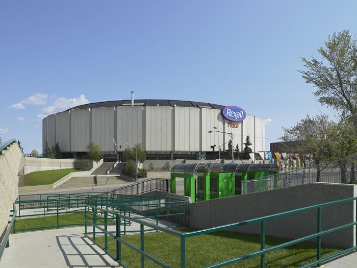 Northlands Coliseum, Edmonton AB