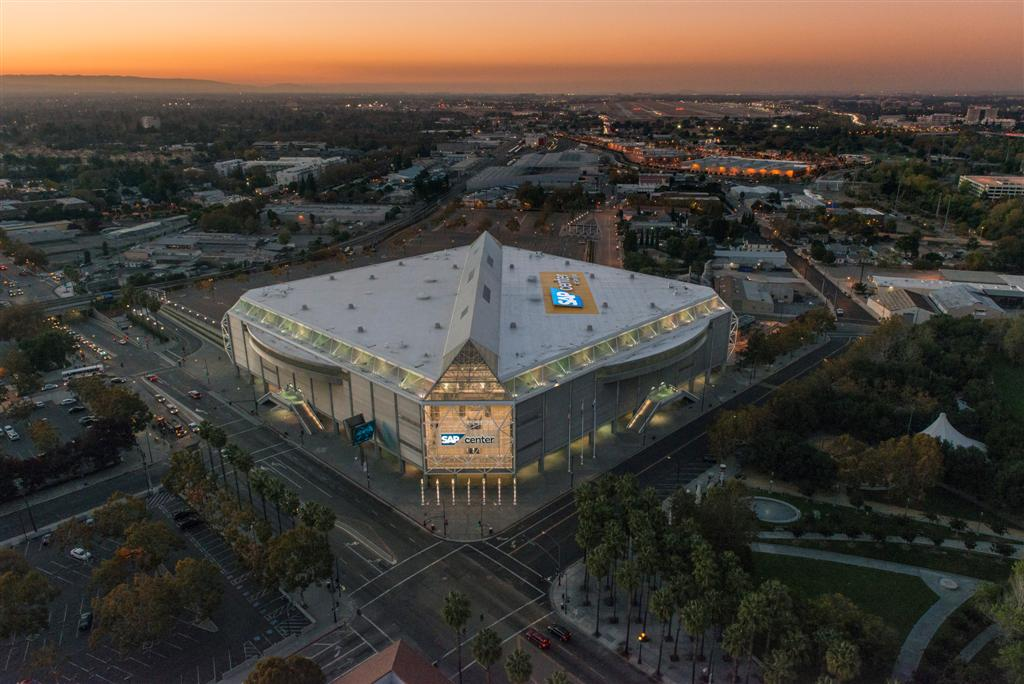 Great Sap Center At San Jose Ca With Hotels
