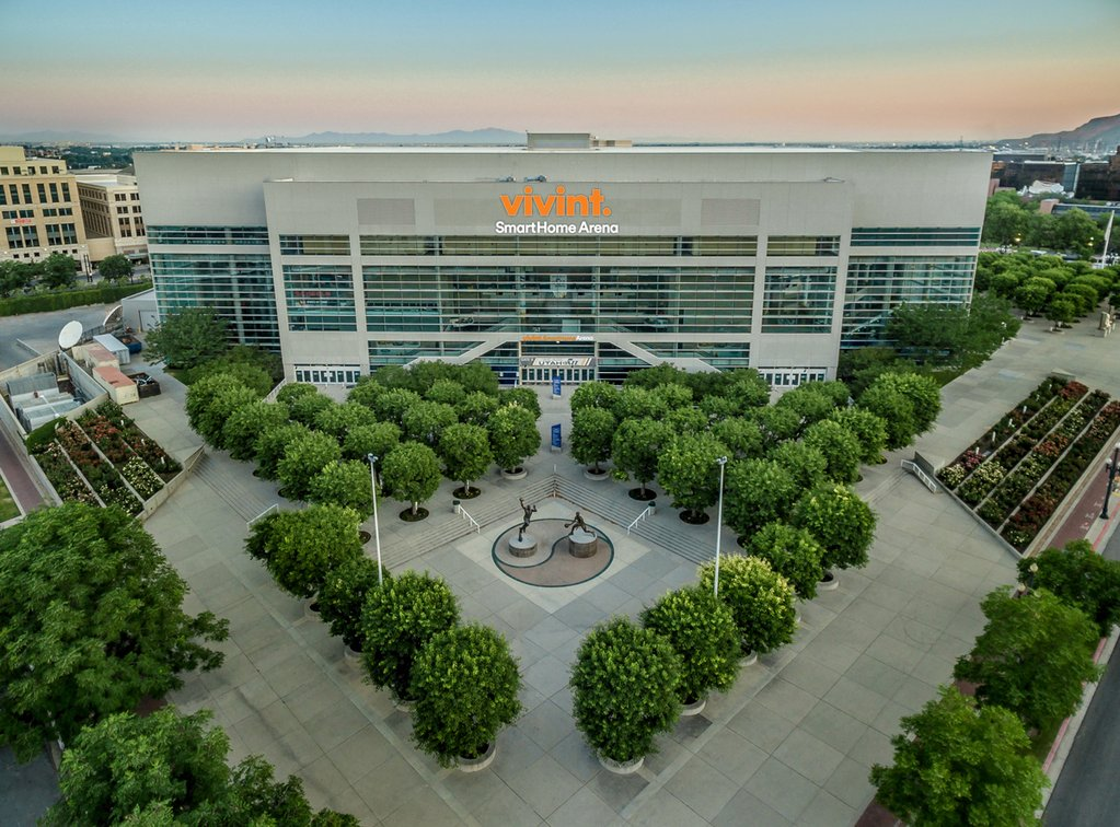 Vivint Smart Home Arena, Salt lake City UT