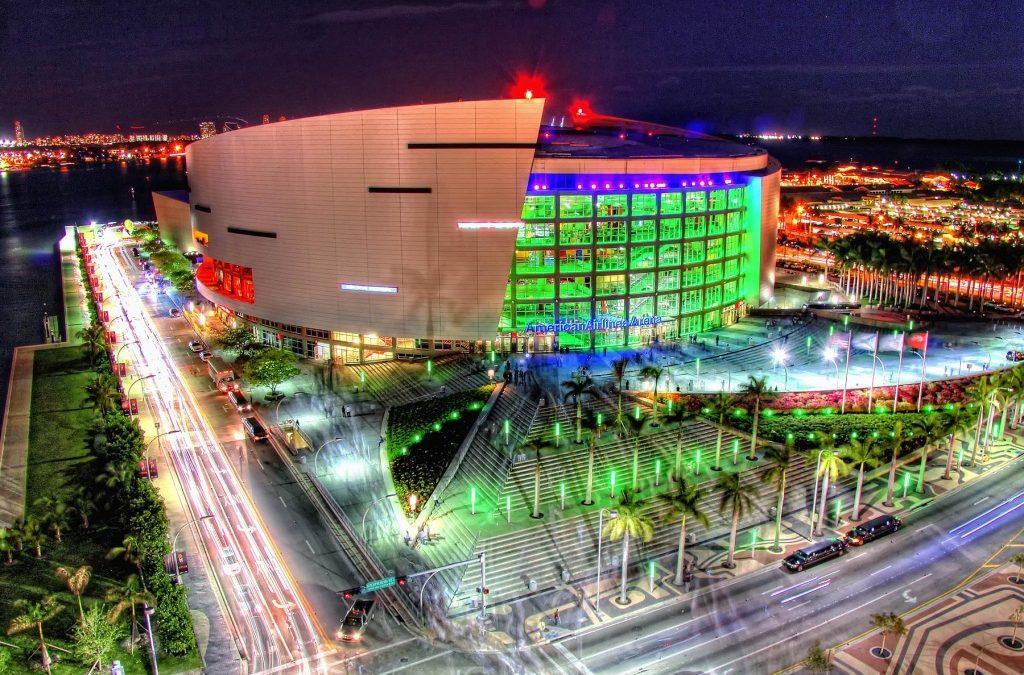 AmericanAirlines Arena, Miami Fl