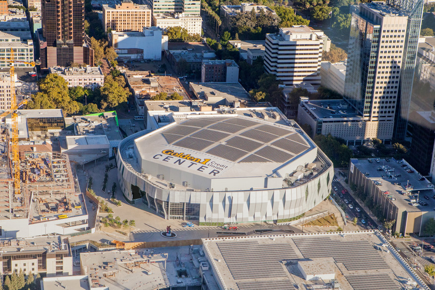 Golden 1 Center, Sacramento CA
