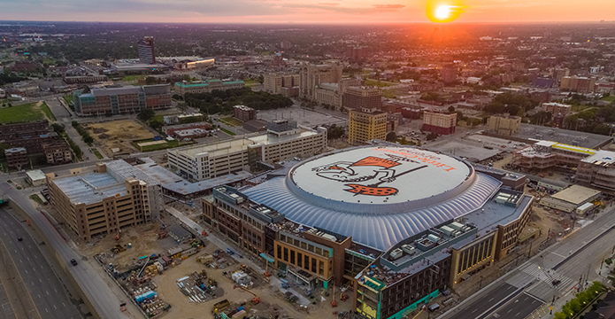 Little Caesars Arena, Detroit MI
