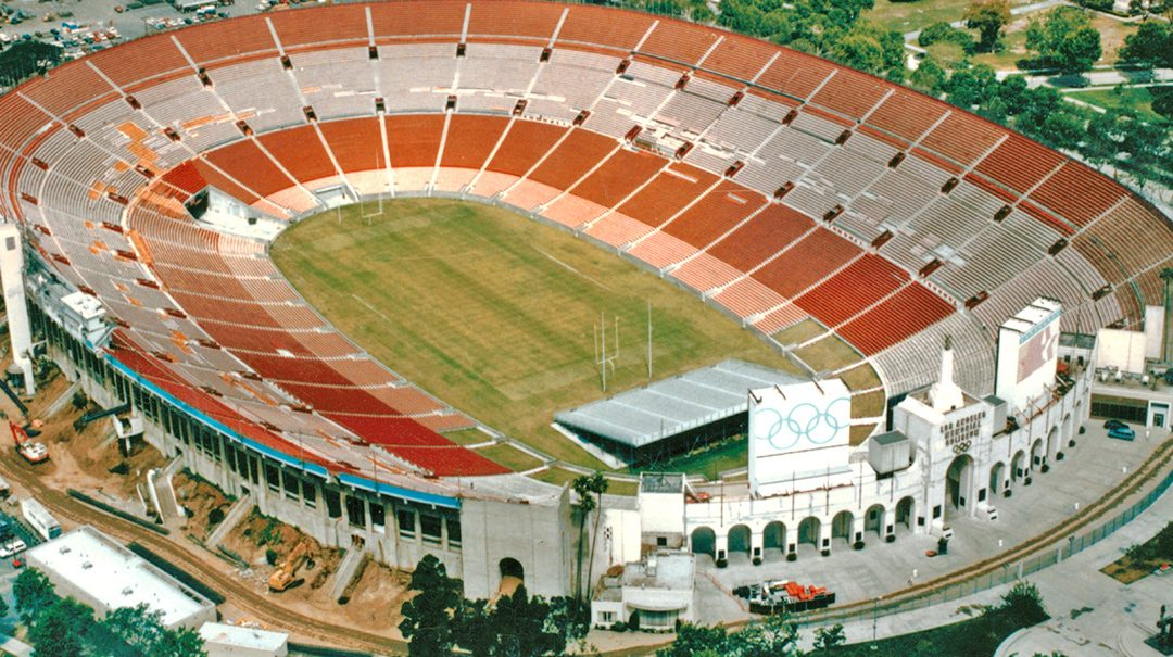 Los Angeles Memorial Coliseum, Los Angeles CA