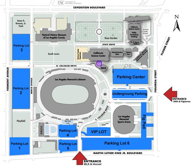 Los Angeles Memorial Coliseum, Los Angeles CA | Seating Chart View