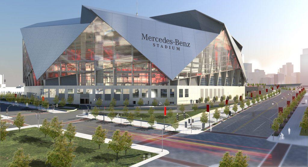 Mercedes-Benz Stadium, Atlanta GA | Seating Chart View