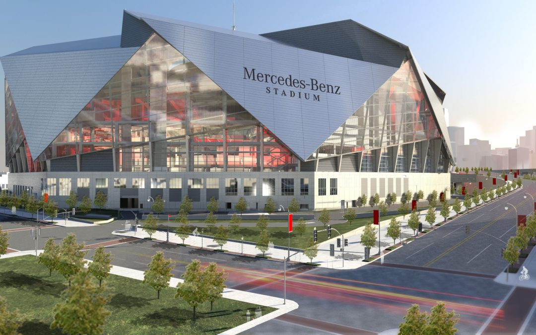 Mercedes-Benz Stadium, Atlanta GA